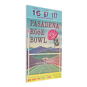 That's My Ticket USC Trojans 1963 Rose Bowl Canvas Mega Ticket