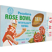 That's My Ticket USC Trojans 1970 Rose Bowl Canvas Mega Ticket
