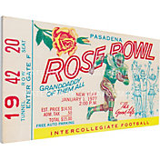 That's My Ticket USC Trojans 1977 Rose Bowl Canvas Mega Ticket