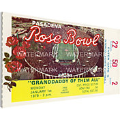 That's My Ticket USC Trojans 1979 Rose Bowl Canvas Mega Ticket