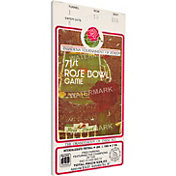 That's My Ticket USC Trojans 1985 Rose Bowl Canvas Mega Ticket