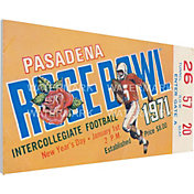 That's My Ticket Stanford Cardinal 1971 Rose Bowl Canvas Mega Ticket