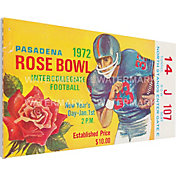 That's My Ticket Stanford Cardinal 1972 Rose Bowl Canvas Mega Ticket