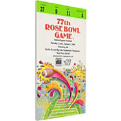 That's My Ticket Washington Huskies 1991 Rose Bowl Canvas Mega Ticket