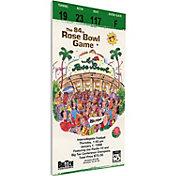 That's My Ticket Washington Huskies 1998 Rose Bowl Canvas Mega Ticket