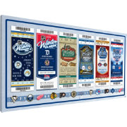 That's My Ticket 2014 Winter Classic Ticket Canvas