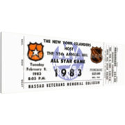 That's My Ticket 1983 NHL All-Star Game Ticket