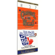 That's My Ticket 1989 NHL All-Star Game Ticket