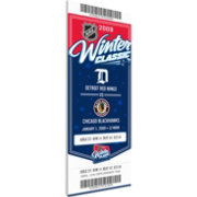 That's My Ticket 2009 Winter Classic Detroit Red Wings v. Chicago Blackhawks Game Ticket