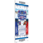 That's My Ticket 2014 Stadium Series New York Rangers v. New Jersey Devils Game Ticket
