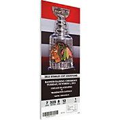 That's My Ticket Chicago Blackhawks 2013 Banner Raising Ticket