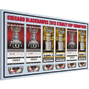 That's My Ticket Chicago Blackhawks 2013 Stanley Cup Final Ticket Canvas