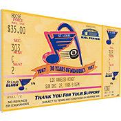 That's My Ticket St. Louis Blues Brett Hull 500th Goal Game Ticket