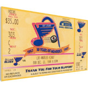 That's My Ticket St. Louis Blues Brett Hull 500th Goal Game Ticket