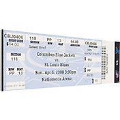 That's My Ticket St. Louis Blues Keith Tkachuk 500th Goal Game Ticket