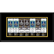 That's My Ticket Boston Bruins 2011 Stanley Cup Final Framed Ticket Canvas