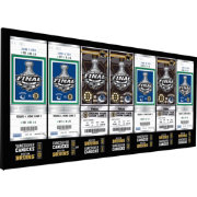 That's My Ticket Boston Bruins 2011 Stanley Cup Final Ticket Canvas