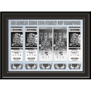 That's My Ticket Los Angeles Kings 2014 Stanley Cup Final Framed Ticket Canvas