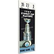 That's My Ticket Edmonton Oilers 1987 Stanley Cup Final Ticket
