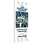 That's My Ticket Edmonton Oilers 1990 Stanley Cup Final Ticket