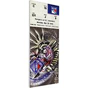 That's My Ticket New York Rangers Wayne Gretzky 894 Goals Game Ticket