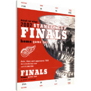 That's My Ticket Detroit Red Wings 2002 Stanley Cup Final Ticket