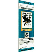 That's My Ticket San Jose Sharks First Game Ticket