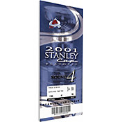 That's My Ticket Colorado Avalanche 2001 Stanley Cup Final Ticket