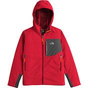 The North Face Boys' Chimborazo Fleece Hoodie Jacket - Past Season