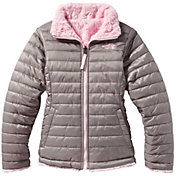The North Face Girls' Reversible Mossbud Swirl Insulated Jacket - Past Season