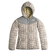 The North Face Girls' Thermoball Reversible Insulated Hooded Jacket - Past Season