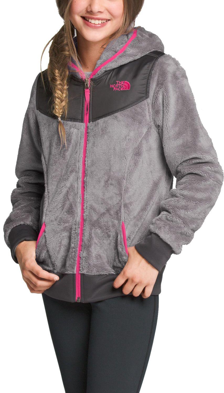 The North Face Girls' Oso Hooded Fleece Jacket - Past Season ...