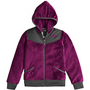The North Face Girls' Oso Hooded Fleece Jacket