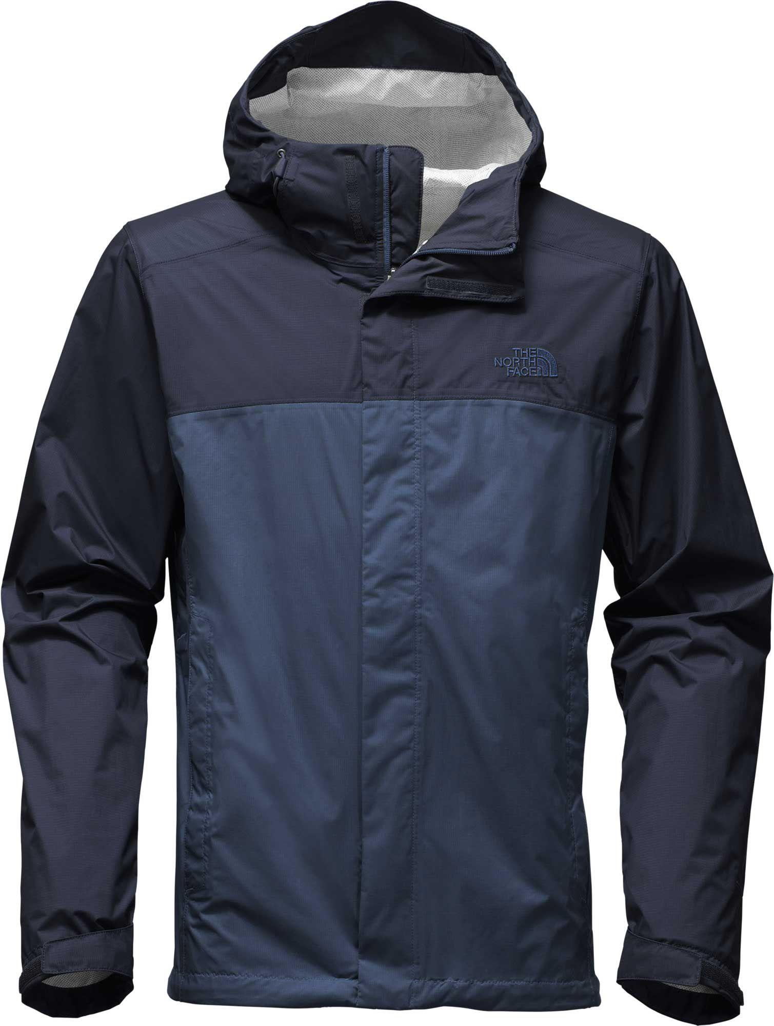 The north face men's venture jacket black