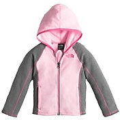 The North Face Toddler Girls' Glacier Full Zip Hooded Fleece Jacket - Past Season