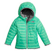 The North Face Toddler Girls' Reversible Mossbud Swirl Fleece Jacket - Past Season