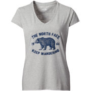 The North Face Women's Wander Bear V-Neck T-Shirt