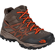 The North Face Kids' Jr. Hedgehog Hiker Mid Waterproof Hiking Boots