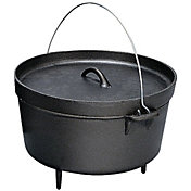 Stansport Cast Iron 12 Quart Dutch Oven