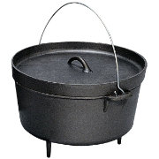 Stansport Cast Iron 8 Quart Dutch Oven