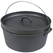 Stansport Cast Iron 8 Quart Dutch Oven- Without Legs