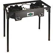Stansport 2 Burner Outdoor Stove with Stand