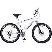 Titan Adult White Knight Mountain Bike