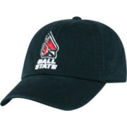 Top of the World Men's Ball State Cardinals Black Crew Adjustable Hat