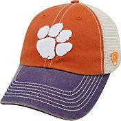 Top of the World Men's Clemson Tigers Orange/White/Regalia Off Road Adjustable Hat
