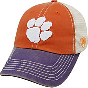 Top of the World Men's Clemson Tigers Orange/White/Regalia Off Road Adjustable Hat
