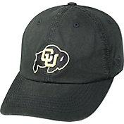 Top of the World Men's Colorado Buffaloes Black Crew Adjustable Hat