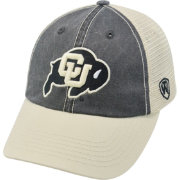 Top of the World Men's Colorado Buffaloes Black/White/Gold Off Road Adjustable Hat