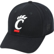 Top of the World Men's Cincinnati Bearcats Black Premium Collection M-Fit Hat