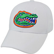 Top of the World Men's Florida Gators White Premium Collection M-Fit Hat
